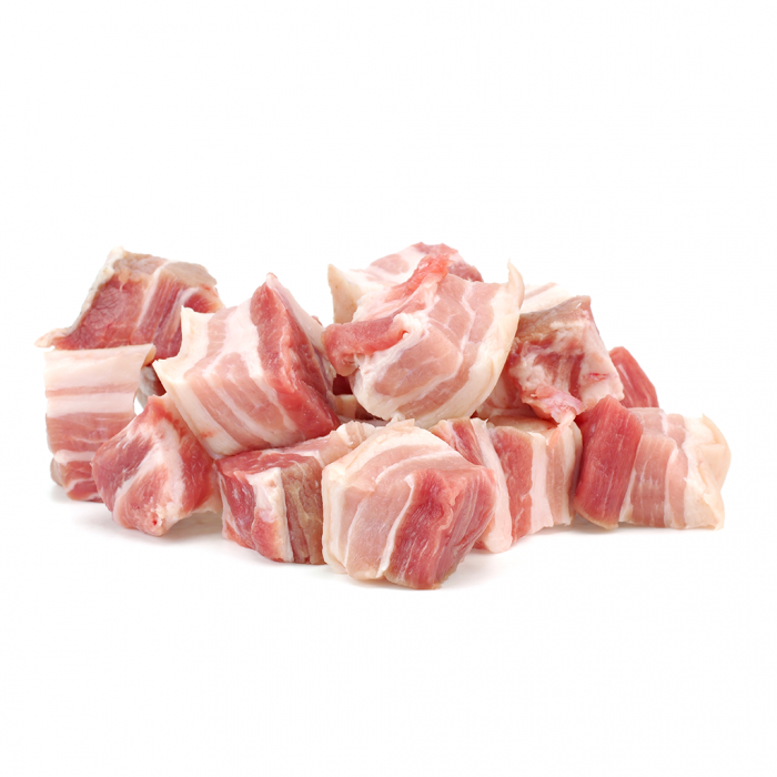 澳洲穀飼豬腩排粒-2磅